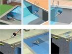 Impermeabilización de piscinas con Sika
