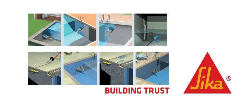El blog de la construcci n impermeabilizaci n de for Productos sika para piscinas
