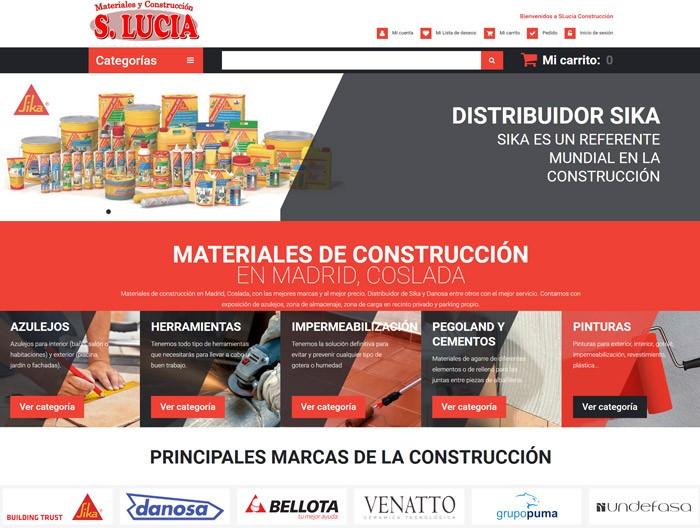 Rediseño Sluciaconstruccion.com